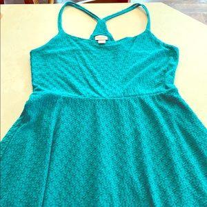 Mossimo Teal Summer Dress